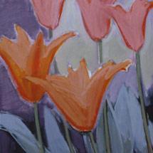 Тюльпаны в саду султана. Диптих