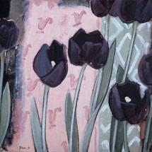 Черные тюльпаны. Диптих