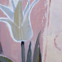 Белые тюльпаны I,II