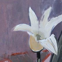 Белые тюльпаны III,IV