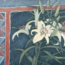 Лилии на черном