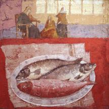 Иисус в доме Марфы и Марии