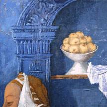Благовещение I. Триптих по мотивам Пьеро дела Франческа