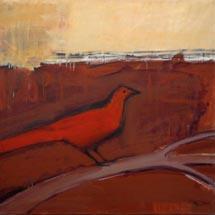 из цикла «Графемы сада»Красная птица